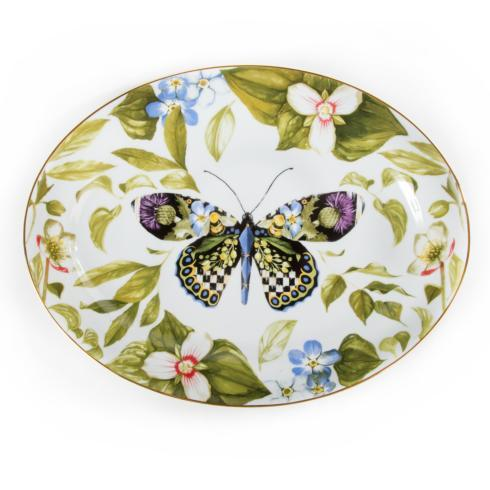 MacKenzie-Childs  Thistle & Bee Serving Platter $198.00