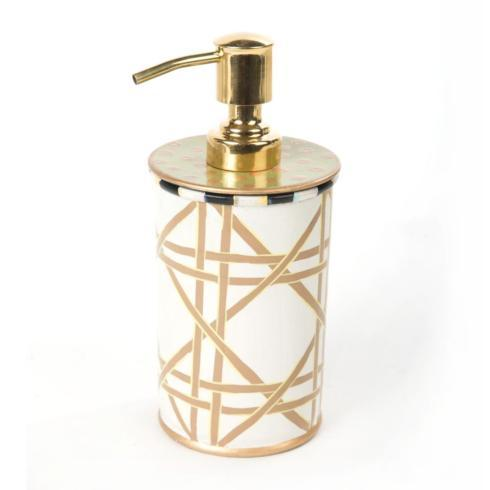 MacKenzie-Childs  Lattice Pump Dispenser $48.00