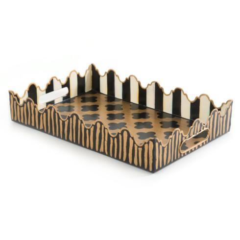 MacKenzie-Childs  Decor Quatrefoil Tray - Small $68.00