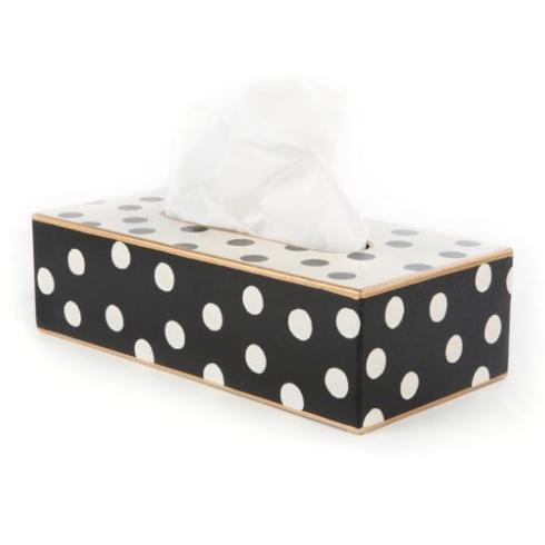 $65.00 Dot Tissue Box Holder