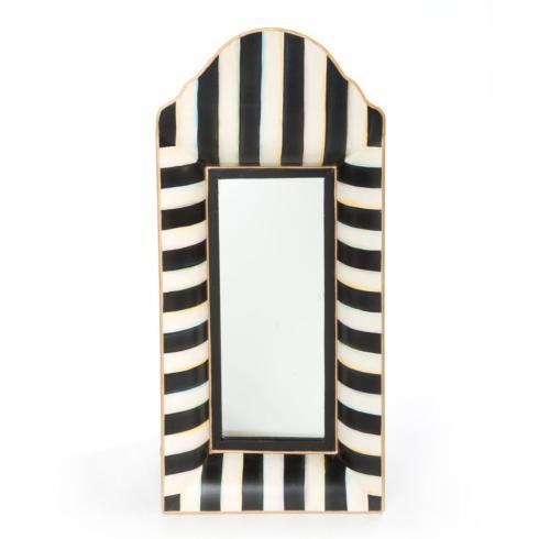 MacKenzie-Childs  Zig Zag Striped Mirror $92.00