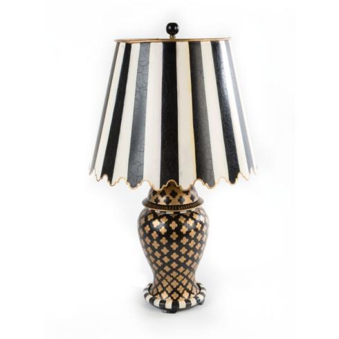 $198.00 Quatrefoil Table Lamp - Small