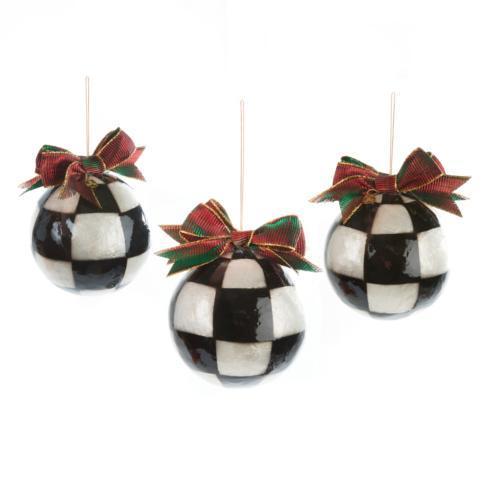 $48.00 Jester Fancy Ornaments - Large - Set Of 3