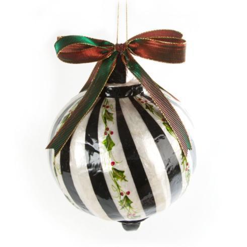 $98.00 Capiz Ornament - Jumbo Holly Ball