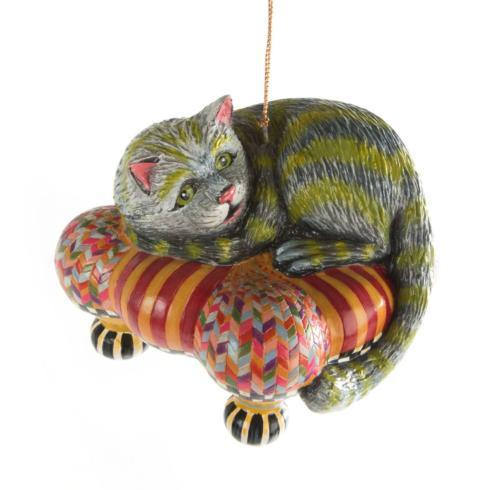 MacKenzie-Childs  Holiday Decor Cheshire Cat Ornament $48.00