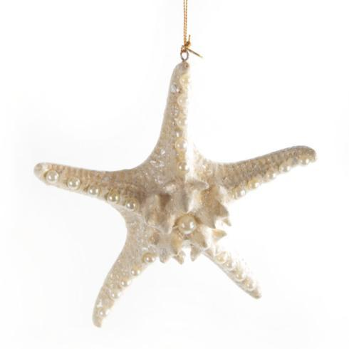 MacKenzie-Childs  Holiday Decor Winter White Starfish - Large $48.00
