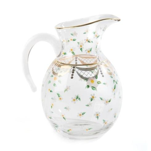 $195.00 Glass Pitcher