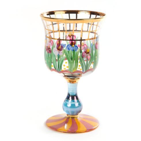 $98.00 Bearded Iris Water Glass
