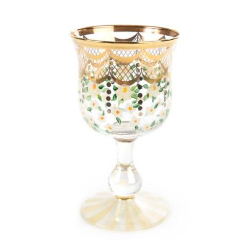 MacKenzie-Childs  Sweetbriar Sweetbriar Water Glass $98.00