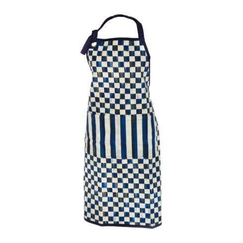 MacKenzie-Childs  Royal Check Apron $50.00