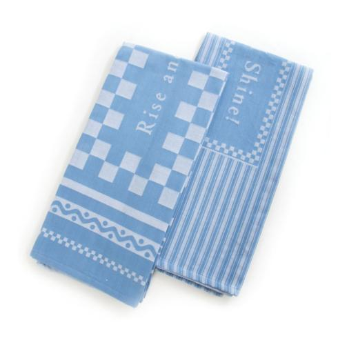 MacKenzie-Childs  Textiles Rise & Shine Dish Towels - Set of 2 $34.00