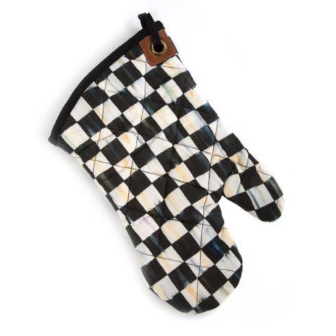 MacKenzie-Childs  Textiles Courtly Check Bistro Oven Mitt $30.00