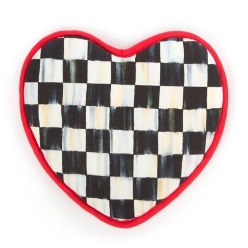 MacKenzie-Childs  Textiles Heart Pot Holder $25.00