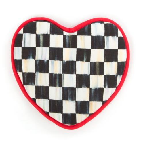 MacKenzie-Childs   Heart Pot Holder $25.00