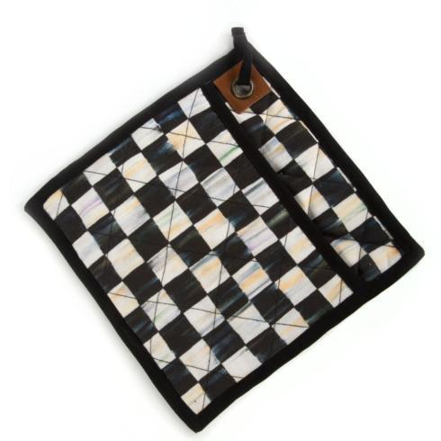 MacKenzie-Childs Courtly Check Kitchen Bistro Pot Holder $25.00