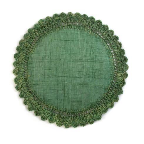 $20.00 Raffia Placemat - Meadow