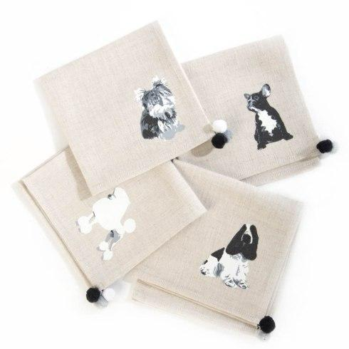 Napkins collection with 3 products