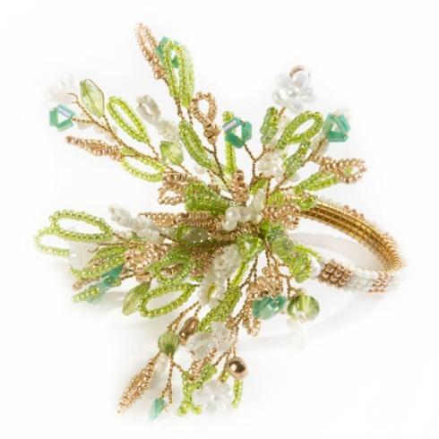 $22.00 Parchment Bouquet Napkin Ring