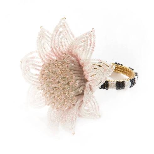 $32.00 Blossom Napkin Ring - Pink