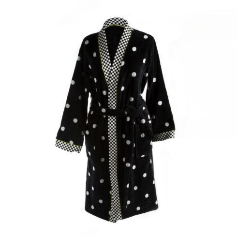 $175.00 Dotty Robe - Large