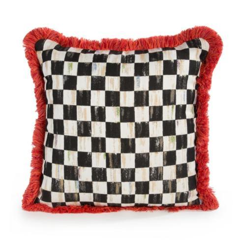 Courtly Check Spindle Outdoor Accent Pillow