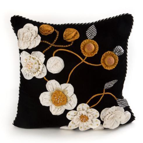 $198.00 Gardenia Square Pillow