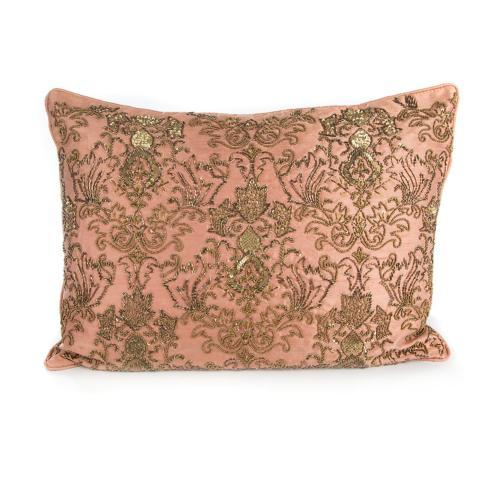 $150.00 Doge\'s Palace Lumbar Pillow - Rose