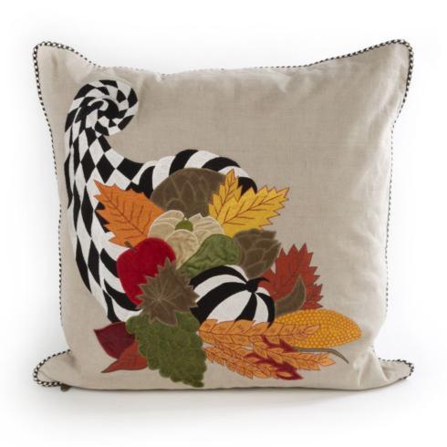 $100.00 Cornucopia Pillow