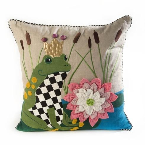 $150.00 Frog O. Nard Pillow