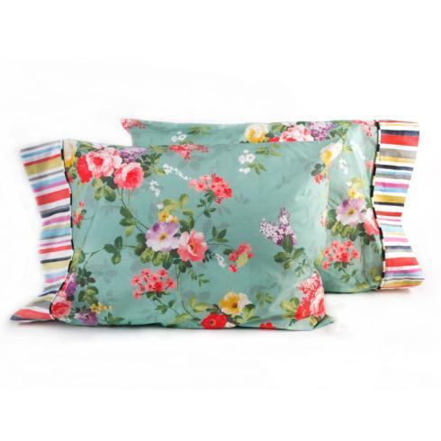 $175.00 Chelsea Garden Standard Pillowcases - Set of 2