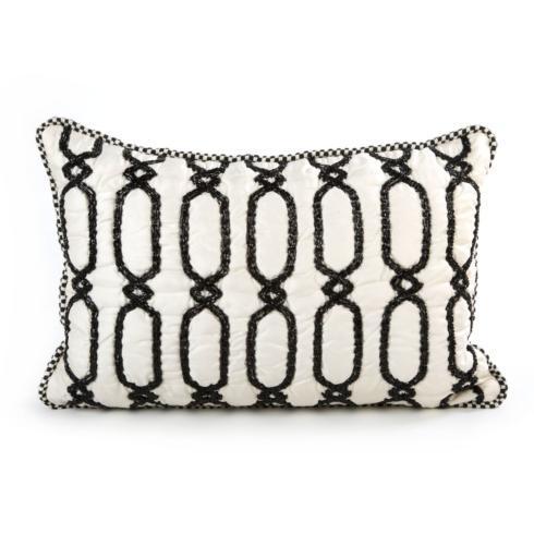 MacKenzie-Childs  Decor Trellis Lumbar Pillow $100.00