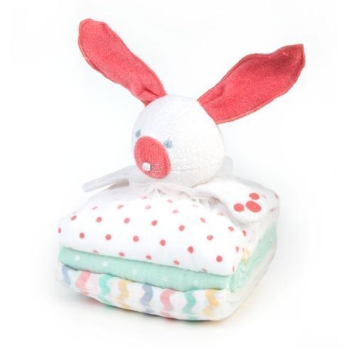 $48.00 Baby Bunny Blanket Set