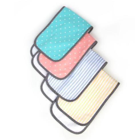 $38.00 Burp Cloths - Spring - Set of 4