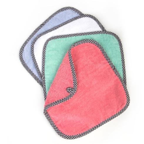 MacKenzie-Childs  Children's Baby Washcloths - Spring - Set of 4 $25.00