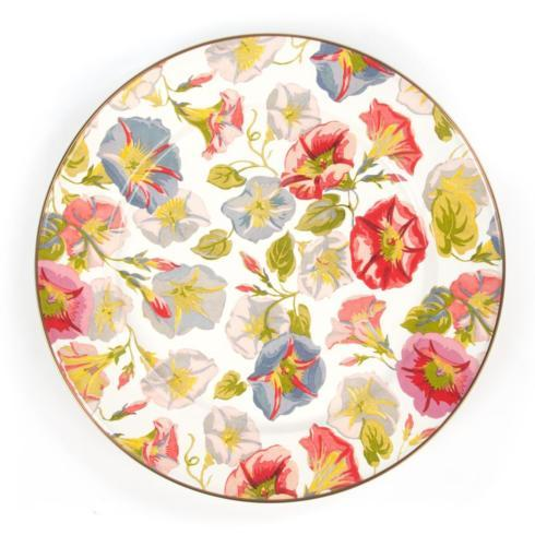 MacKenzie-Childs  Morning Glory Charger/Plate $52.00