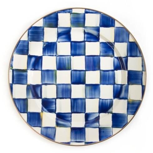 MacKenzie-Childs Royal Check Accessories Charger/Plate $52.00