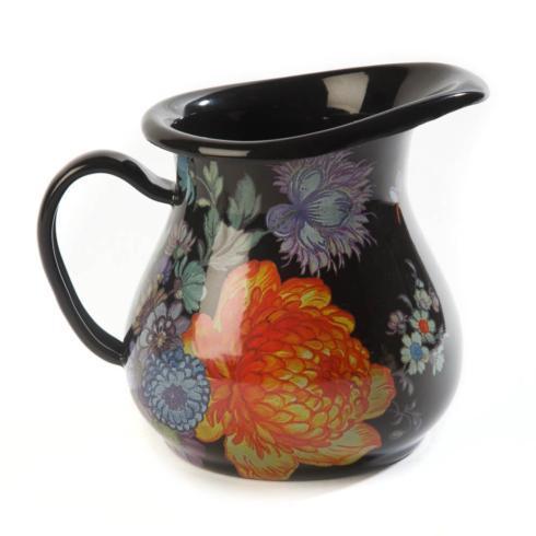 MacKenzie-Childs  Flower Market  Creamer - Black $50.00