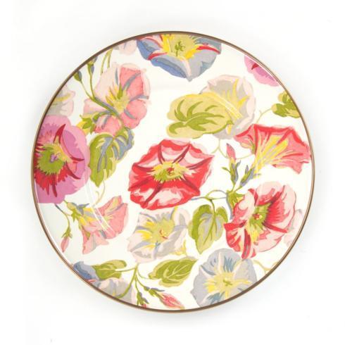 MacKenzie-Childs  Morning Glory Salad/Dessert Plate $40.00