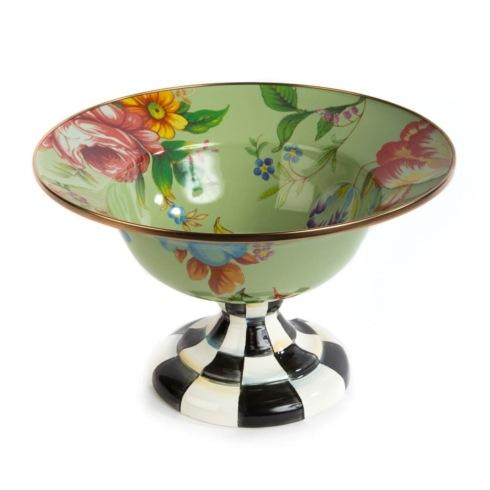 $150.00 Large Compote - Green
