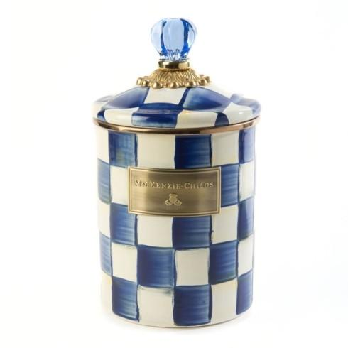 MacKenzie-Childs Royal Check Accessories Canister - Medium $84.00