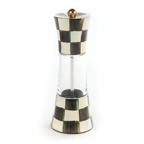 MacKenzie-Childs Courtly Check Tabletop Enamel Grinder $98.00