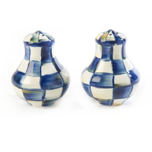 MacKenzie-Childs Royal Check Accessories Salt & Pepper Shakers $52.00