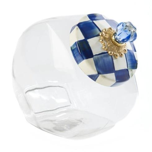 MacKenzie-Childs Royal Check Accessories Cookie Jar With Enamel Lid $58.00