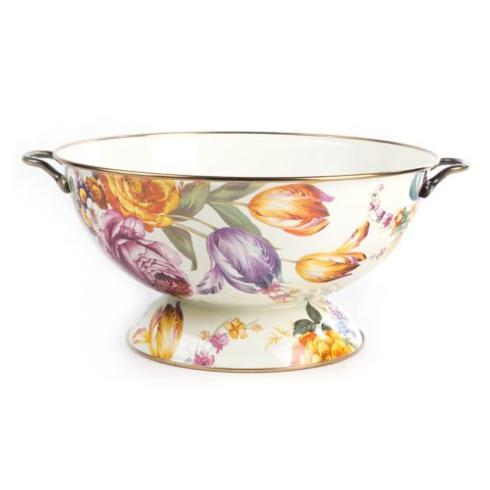 MacKenzie-Childs  Flower Market  Everything Bowl - White $115.00