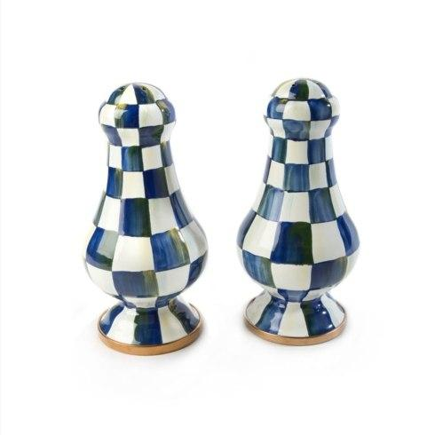 MacKenzie-Childs Royal Check Accessories Large Salt & Pepper Shakers $115.00