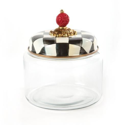 MacKenzie-Childs Courtly Check Kitchen Kitchen Canister - Small $78.00