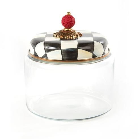 MacKenzie-Childs Courtly Check Kitchen Kitchen Canister - Medium $82.00