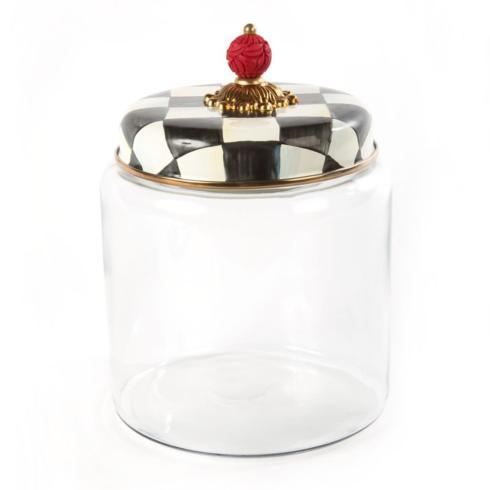 MacKenzie-Childs  Courtly Check Kitchen Canister - Large $75.00
