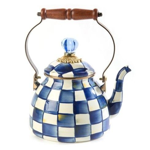 MacKenzie-Childs Royal Check Accessories Tea Kettle - 2 Quart $125.00