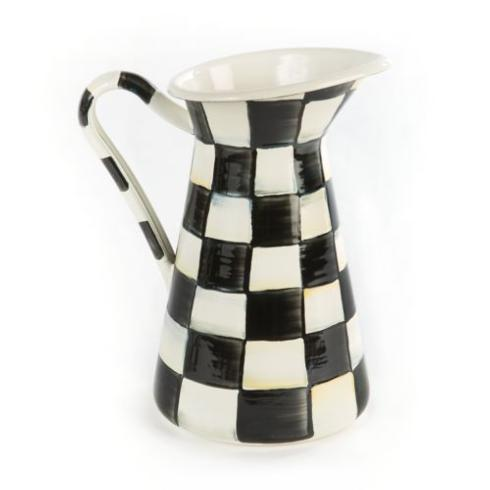 MacKenzie-Childs  Courtly Check Practical Pitcher - Small $78.00